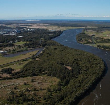 Hunter River, Newcastle - aerial image (10) _ Doug Beckers _ Flickr